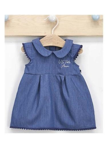 U.S. Polo Assn. U.S. Polo Assn Kız Bebek Elbise Lacivert